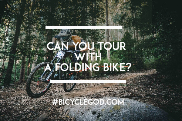 Can you tour with a folding bike