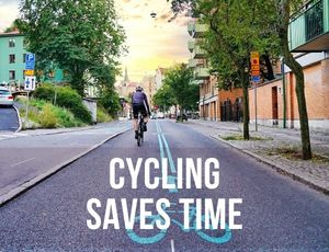 Cycling-Saves-Time