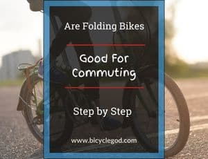 Folding bikes might be good for you. A folding bike is like an ordinary bicycle, except that it folds up and can fit in the back of your car